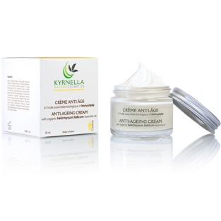 Anti-ageing face cream with essential oil of Immortelle