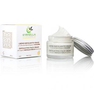 Exfoliating Face Cream with Helichrysum Italicum Essential Oil