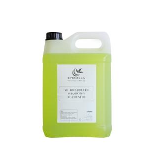 Gel bain douche shampoing à la menthe 5L